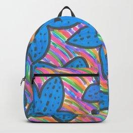 Rainbow Bright Blue Starfish Backpack