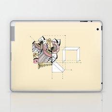 La geometría de las flores II Laptop & iPad Skin