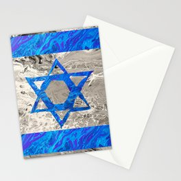 Flag of Isreal Stationery Cards