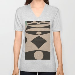 Marble Foyer Unisex V-Neck