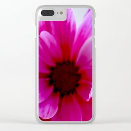 Smell the Flowers Clear iPhone Case