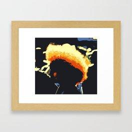 Afro Life Framed Art Print
