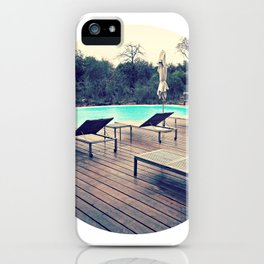 poolside iPhone Case