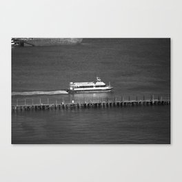 New York City Water Taxi 2012 Canvas Print