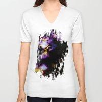 velvet underground V-neck T-shirts featuring Underground by Irène Sneddon