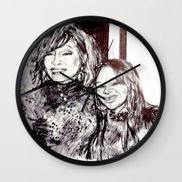 NIPPY & WHITNEY Wall Clock