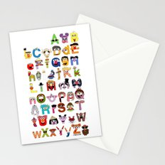 Sesame Street Alphabet Stationery Cards