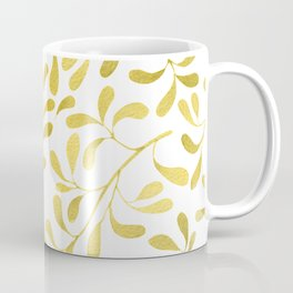 Golden Leaves Coffee Mug