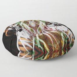 Sagg-Unicorn  abstract art Floor Pillow