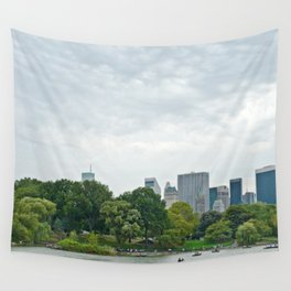Sunday morning in Central Park NYC Wall Tapestry