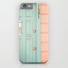Pastel House Slim Case iPhone 6