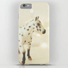 Horse in Winter iPhone 6s Plus Slim Case