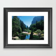 Zumwalt Meadow Trail Framed Art Print