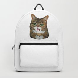 Lil Bub - famous cat Backpack