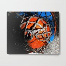 Basketball art vs 142 Metal Print