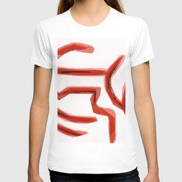 Orange Maze T-shirt