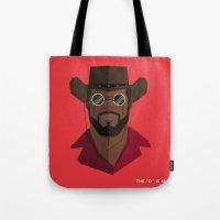 django Tote Bags featuring Django Unchained by justdan