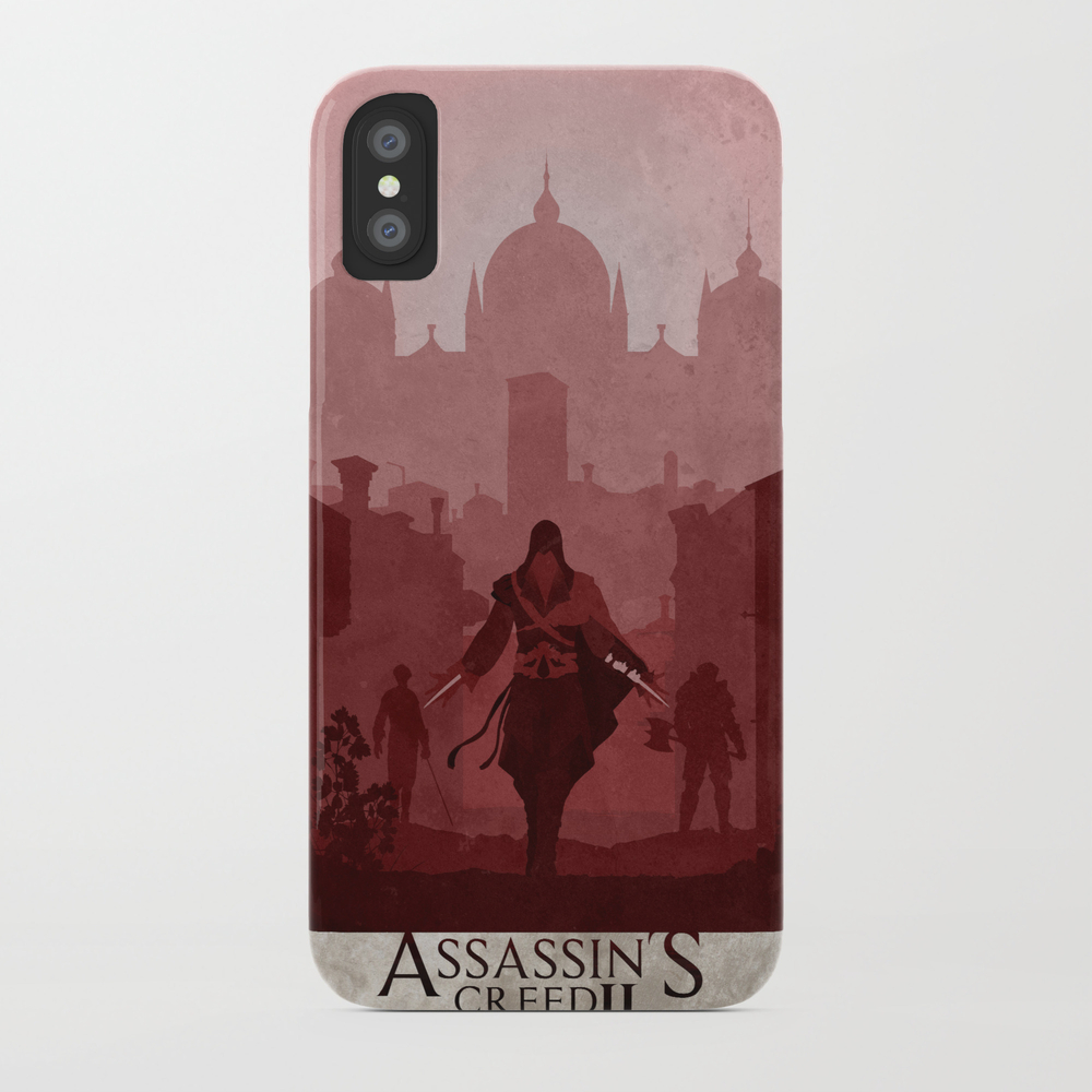 Assassin's Creed Ii Phone Case by Ryanswannick PCS8007223