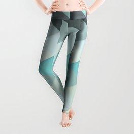 Mint Triangles Leggings