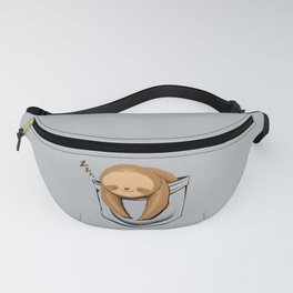 Sloth in a Pocket Fanny Pack