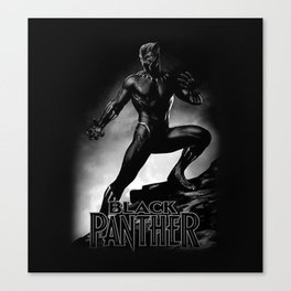 wakanda panther Canvas Print
