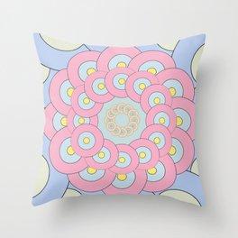 Simple Mandala Throw Pillow