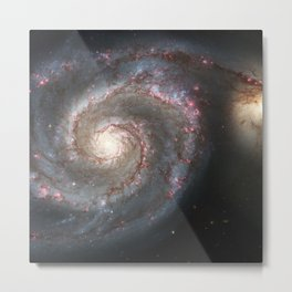 Messier 51 Metal Print