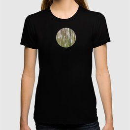 Wispy on green and magenta reeds T-shirt
