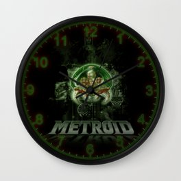 The Last Metroid Wall Clock
