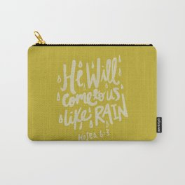 Hosea 6: 3 x Mustard Carry-All Pouch
