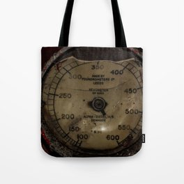 Red Revometer Tote Bag