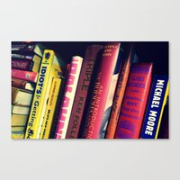 literature Canvas Prints featuring Literature by Raspberry Diamonds Photography