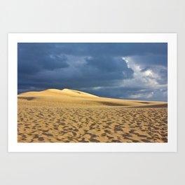 Dune du Pilat 3 Art Print