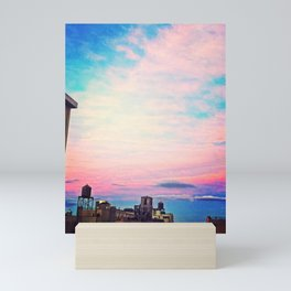 Tie Dye in the Sky 5 Mini Art Print