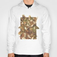 watch Hoodies featuring Red-Throated, Black-capped, Spotted, Barred by Teagan White