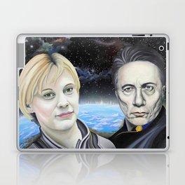 Katee Sackhoff and Edward James Olmos Laptop & iPad Skin