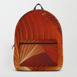 Leaves in Terracotta Color #decor #society6 #buyart Backpack