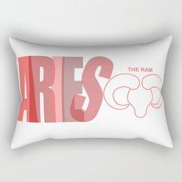 ARIES - The Ram Rectangular Pillow