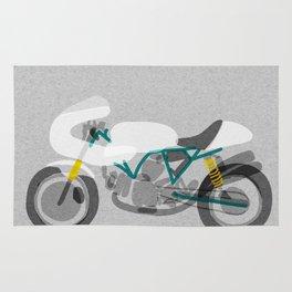 Vintage Motorcycle Rug