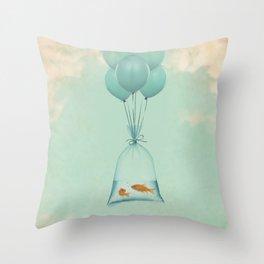 Flight to Freedom Throw Pillow