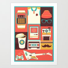 All Things Art Print