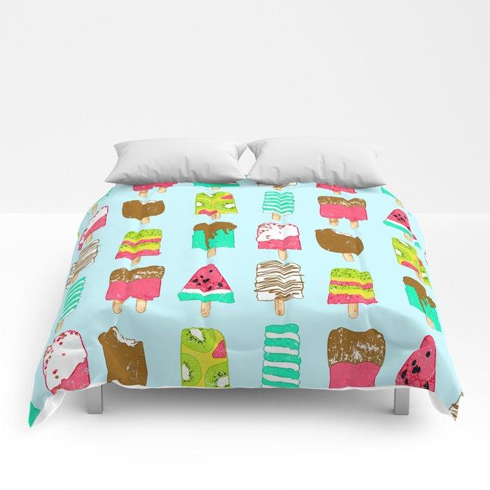 Ice Cream Time Comforters