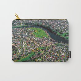 Hamilton City, New Zealand - Aerial view  Carry-All Pouch