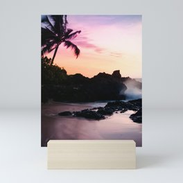 Paako Beach Sunset Jewels Mini Art Print