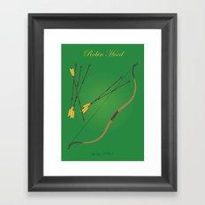 Robin Hood | Fairy Tales Framed Art Print