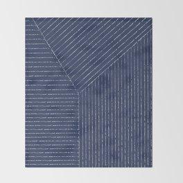 Lines / Navy Decke