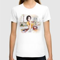 cook T-shirts featuring cook by tatiana-teni