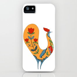 Bird and Flowers iPhone Case