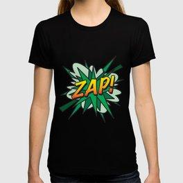 Comic Book Pop Art ZAP! T-shirt