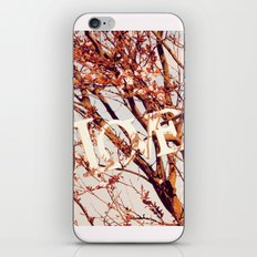 Spring LOVE iPhone & iPod Skin